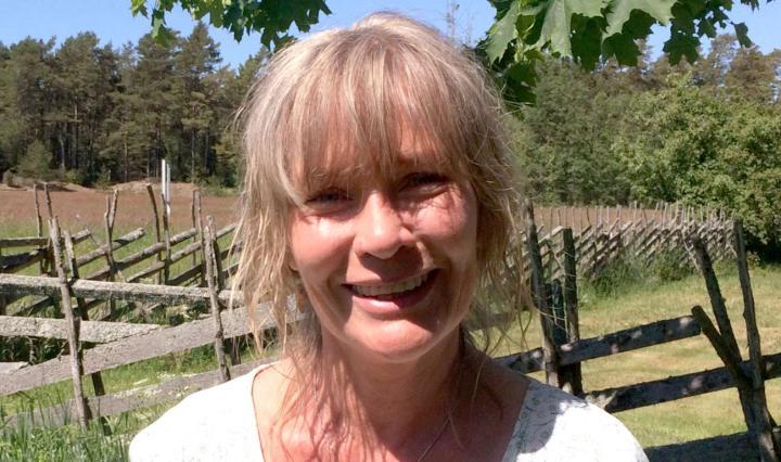 Porträttfoto på Katrin